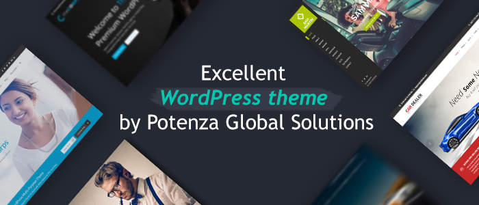 Top Wordpress Theme by Potenza Global Solutions | Potenza