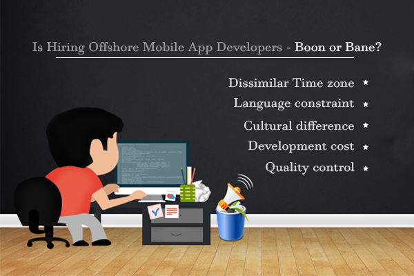 Offshore mobile app development