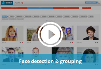 Face Detection & Grouping