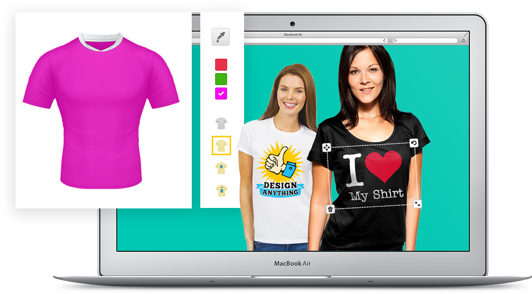 Design your own t shirt online potenza global solutions for Design my own shirt online